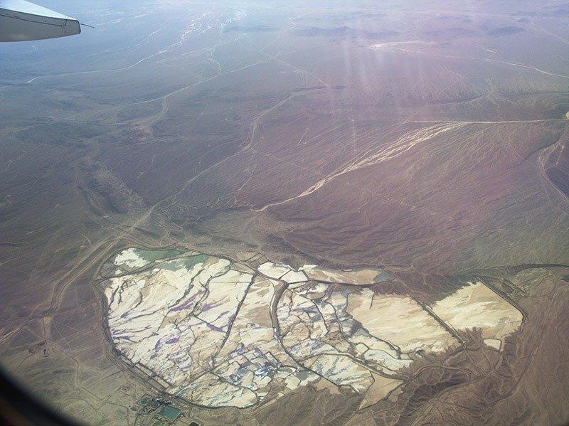 vista do avião sky airline chile