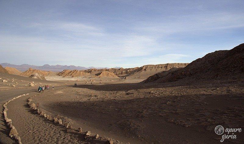quanto e Valle de La Luna e Valle de La Muerte