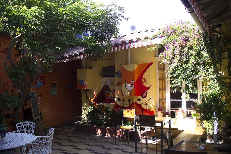 patio-hostel-providencia em santiago