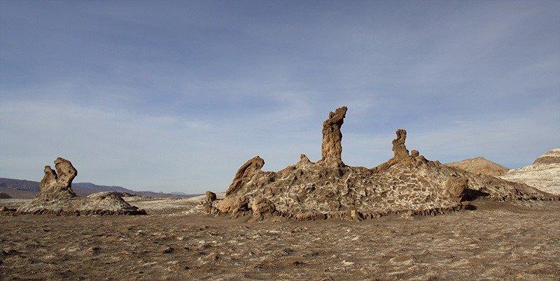 pedra tres marias Valle de La Luna atacama