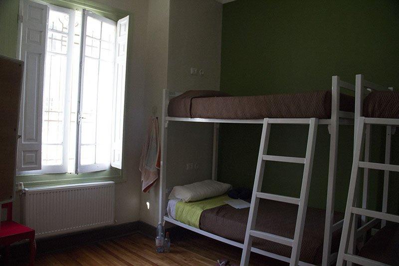 quarto-hostel-em-santiago-providenci