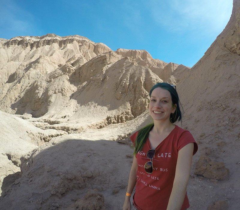 Valle de La Muerte gustavo le paige