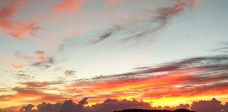 balneario piçarras santa catarina nascer do sol drone