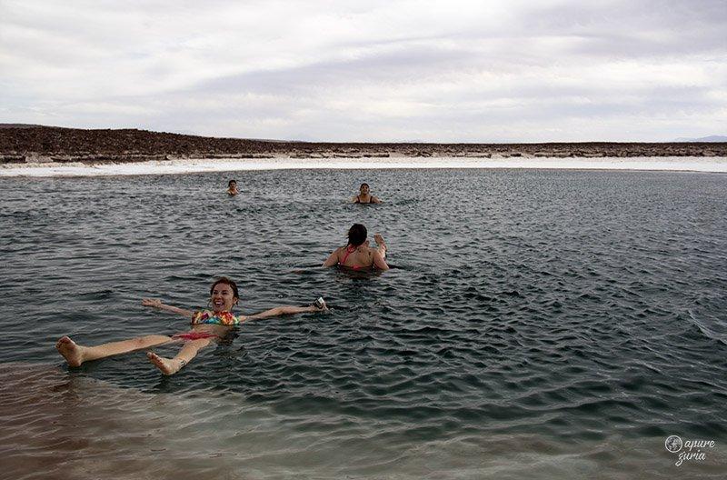 impossivel afundar laguna escondida chile