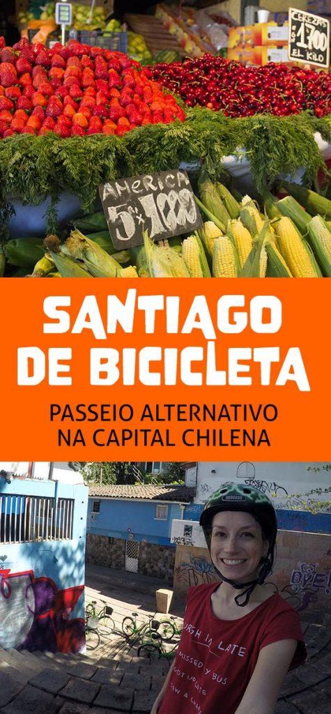 Santiago de Bicicleta, atrações e a vida no Chile