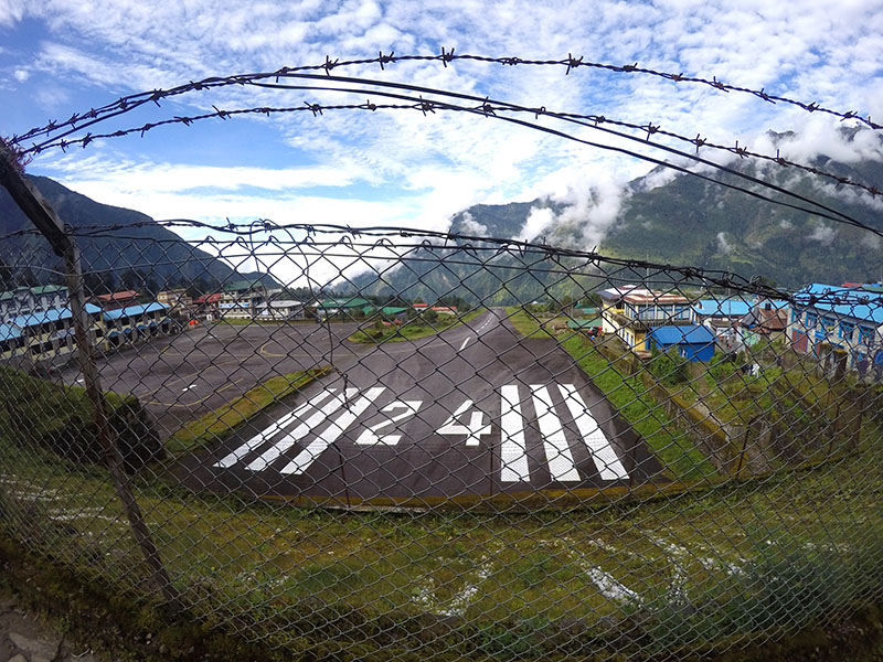 aeroporto lukla mais perigoso do mundo everest camp base