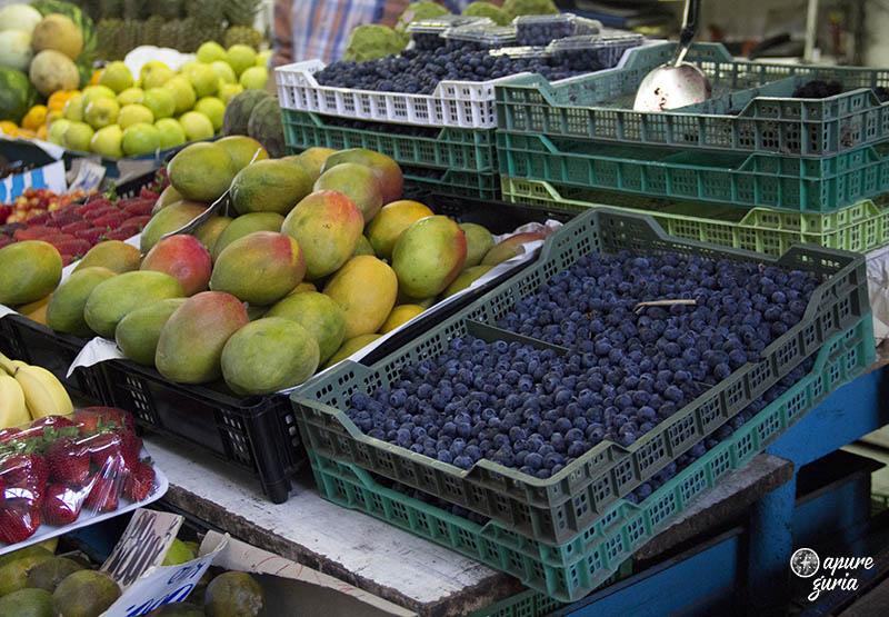 mercado central em santiago de chile