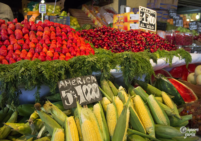 mercado municipal central em santiago de chile