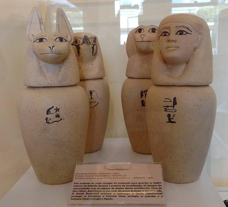 museu egipcio de curitiba canopos