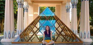 museu egipcio de curitiba rosa cruz piramide