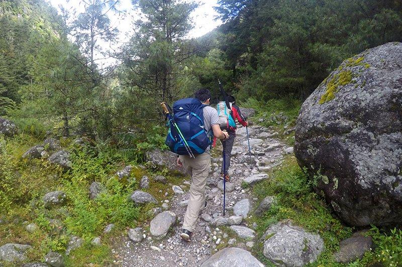 trilha everest campo base trekking