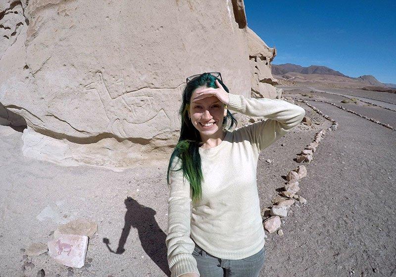petroglifos vale do arcoiris atacama
