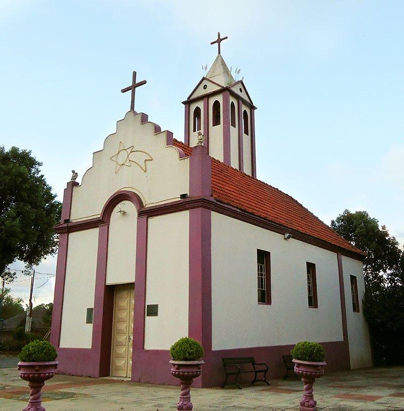 igreja construida com vinho bento goncalves
