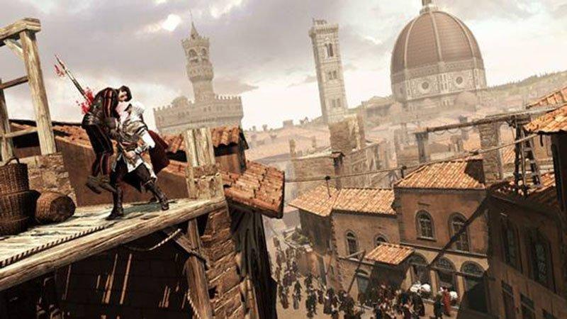 jogos que inspiram viagens assassins creed