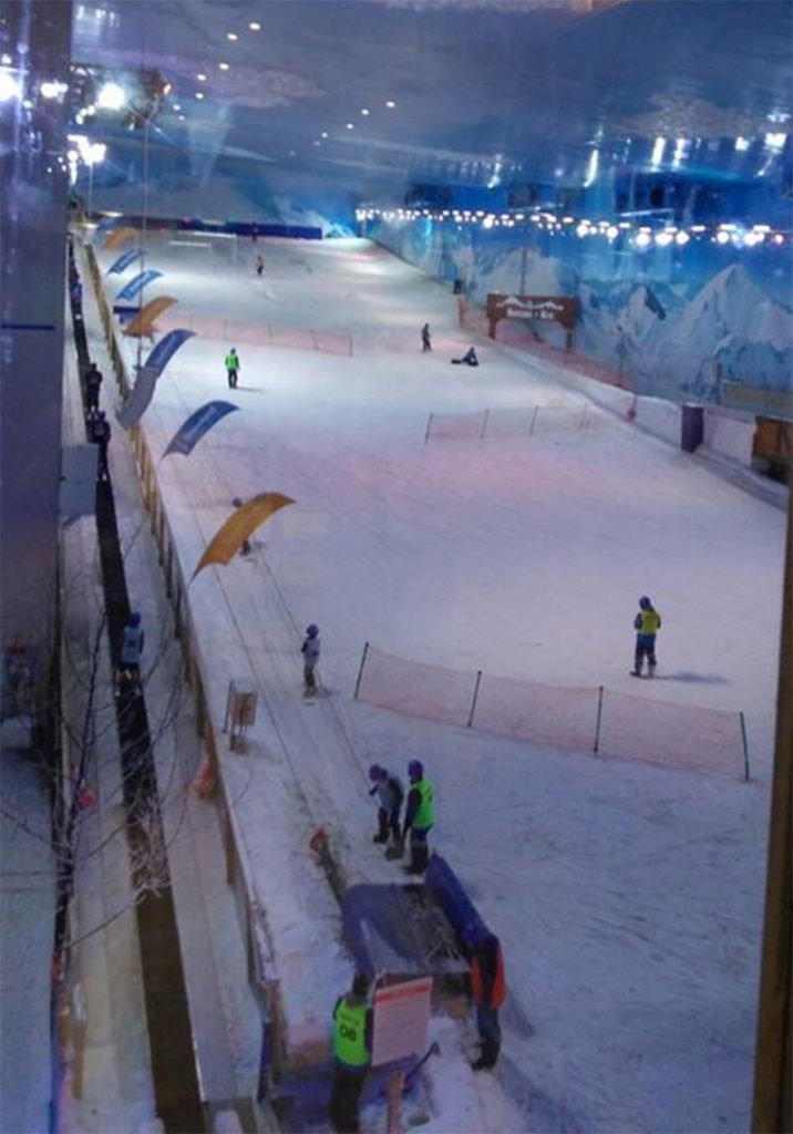 pista de neve snowboard gramado