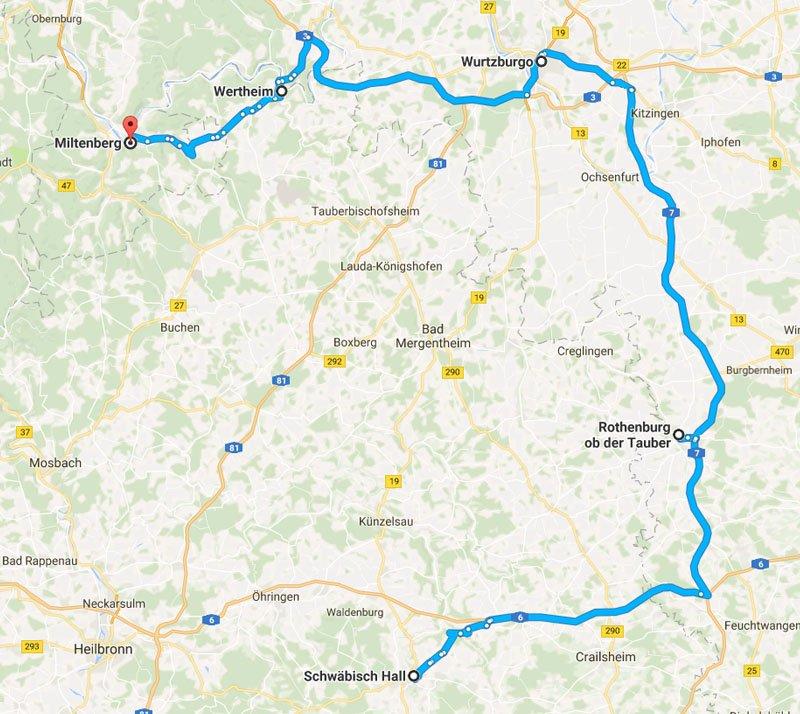roteiro cidades do interior da alemanha baden wurttemberg