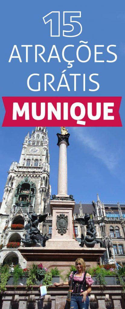 15 atrações grátis em Munique o melhor da capital da Baviera! Confira o que visitar em Munique na Alemanha