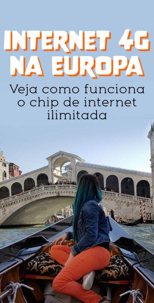 Chip Internacional 4g, internet ilimitada no celular na Europa e outros paises, veja como funciona
