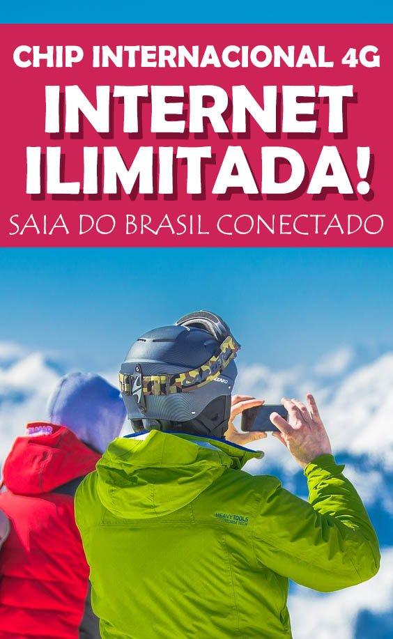 Veja como funciona o Chip internacional 4G, saia do Brasil com internet!