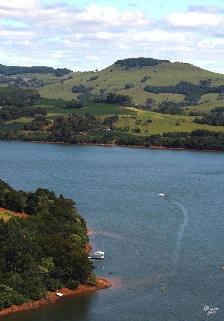 barco lago de ita santa catarina