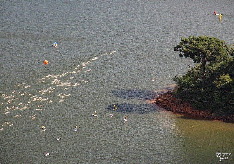 competicao natacao lago de ita santa catarina