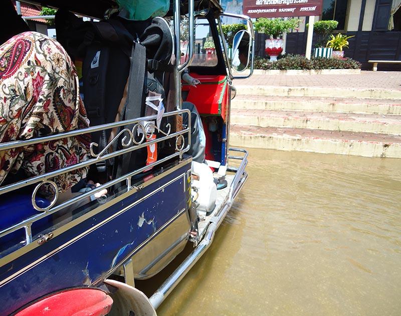 epoca monção na tailandia alta temporada