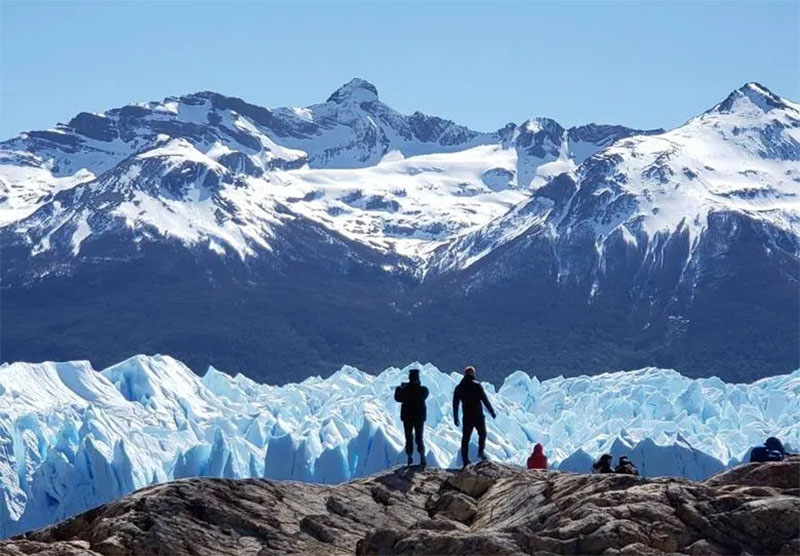 glaciar perito moreno vista do refugio