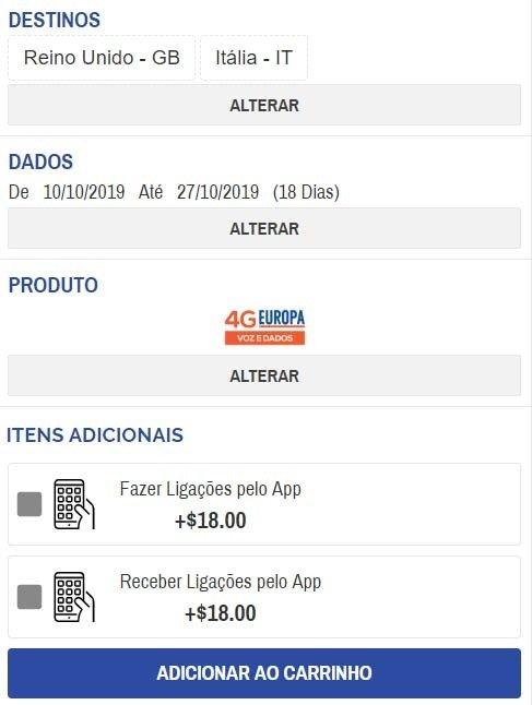 guia de compras de chip de internet easysim4u online