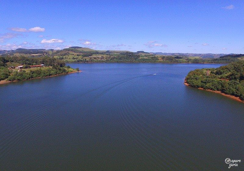 lago de ita santa catarina barco dicas de viagem