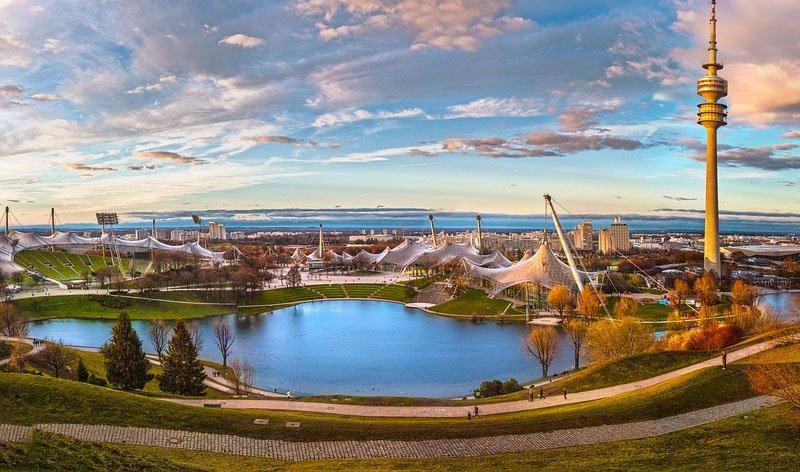 olympic park munique atrações gratis