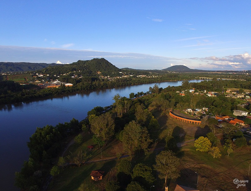 rio iguaçu uniao da vitoria parque ambiental