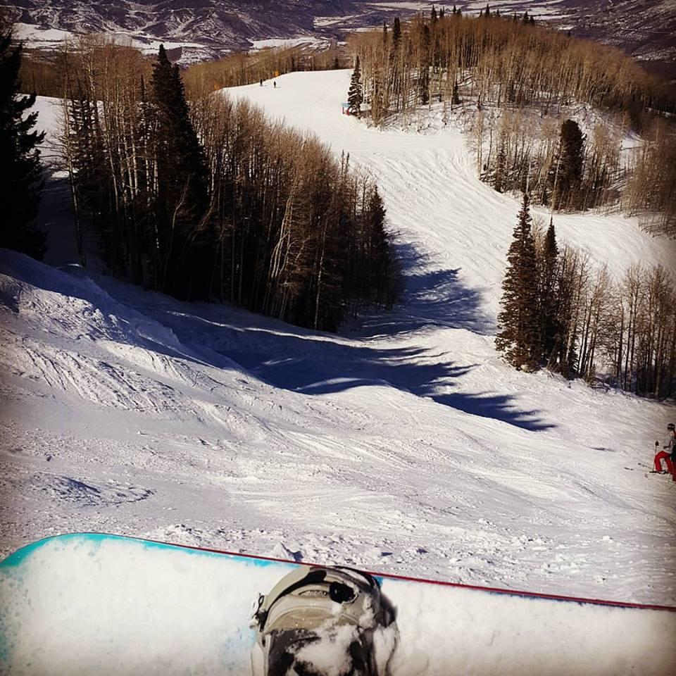 ski vallet resort nas montanhas neve estados unidos