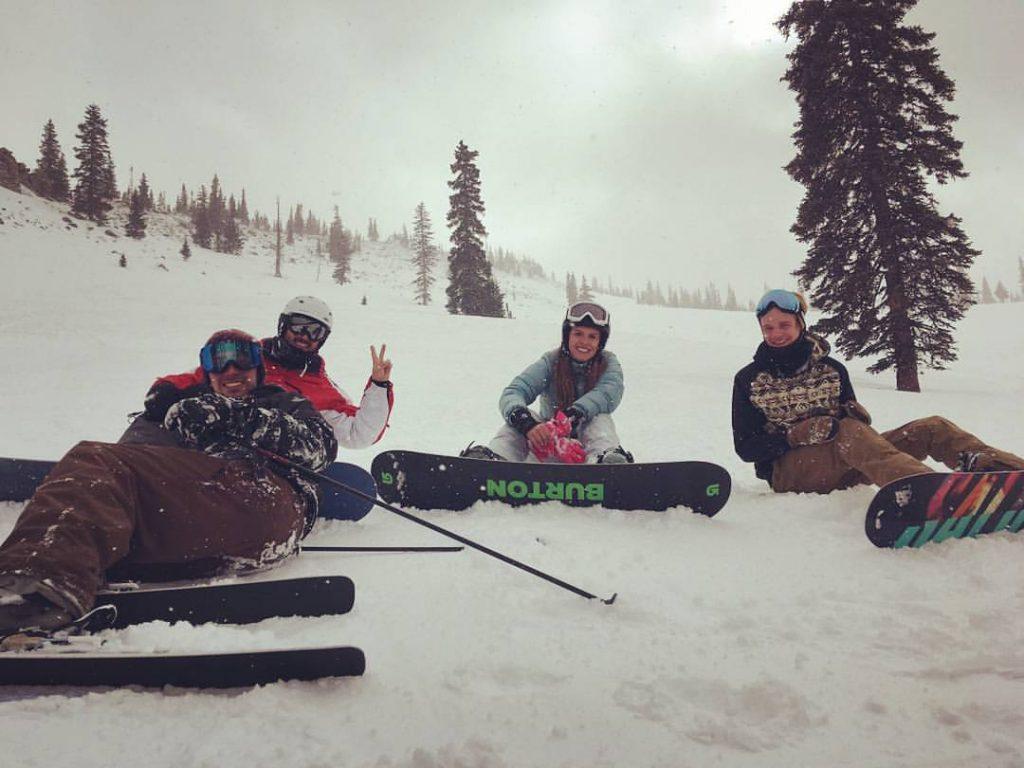 trabalhar nos estados unidos resort de ski snowboard