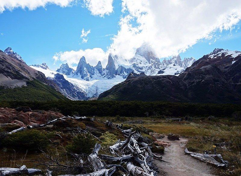 trilha ao monte fitz roy patagonia argentina