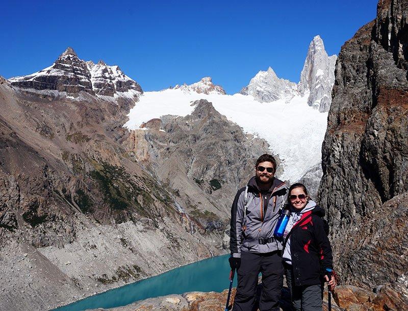 trilha laguna de los tres fitz roy argentina