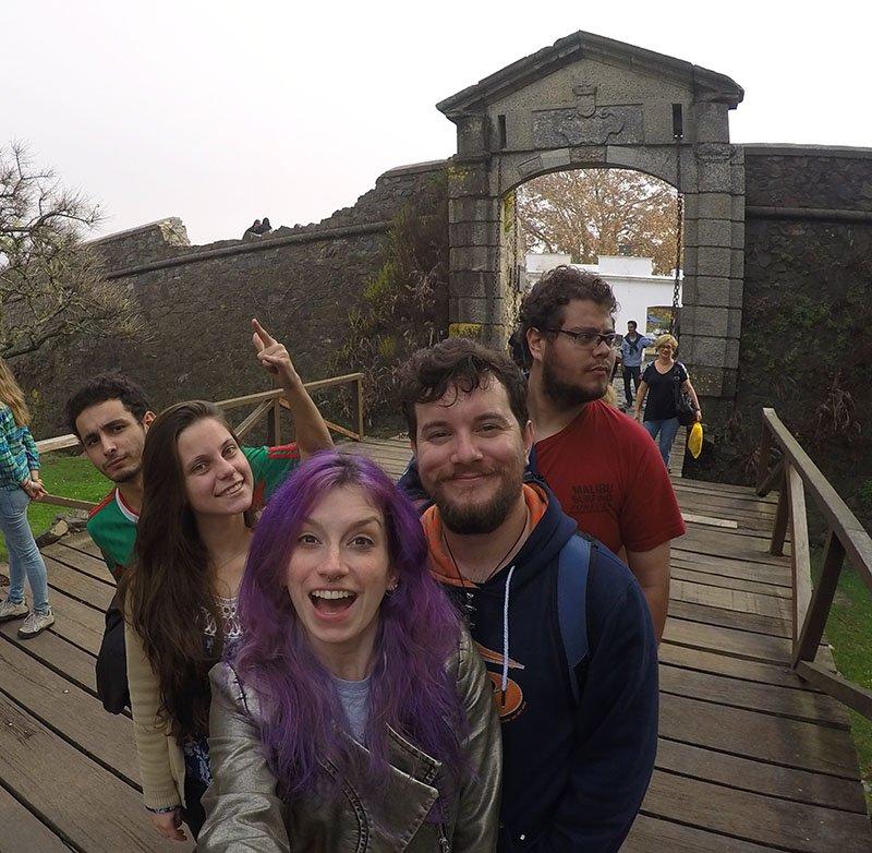 como tirar fotos sem pessoas aleatorias uruguai