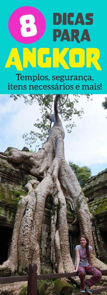 Dicas para visitar os templos de Angkor no Camboja