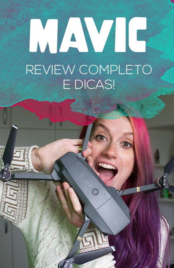 Review do drone Mavic DJI, pontos positivos e negativos, dicas de voo