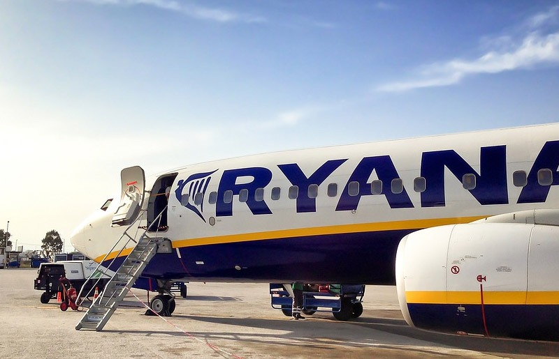 companhias aereas baratas na europa ryanair