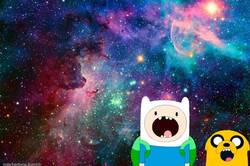 hora da aventura espaço