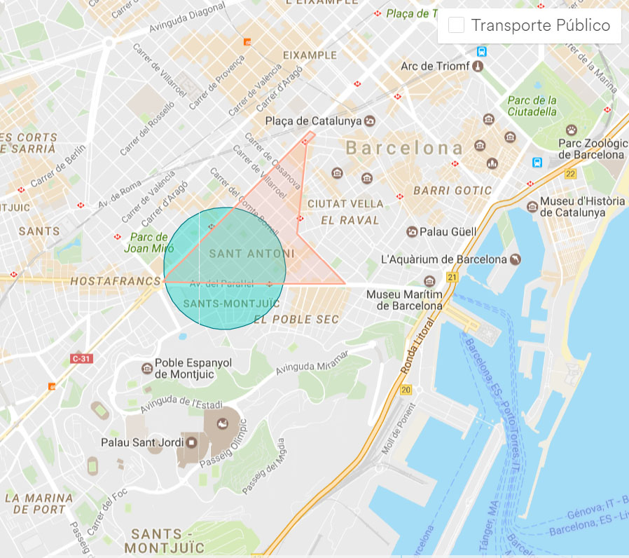 localizacao airbnb desconto