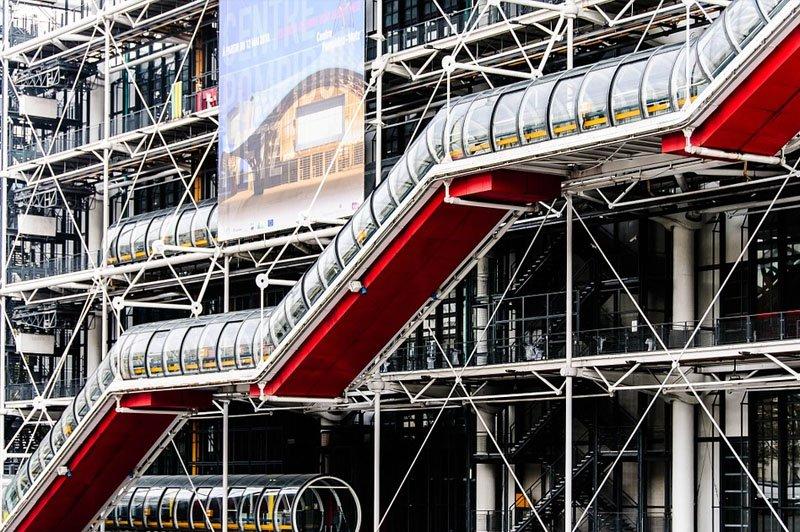 museus em paris centre pompidou