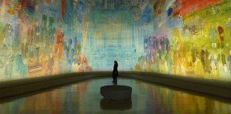 Fada da Eletricidade de Raoul Dufy museu de arte moderna paris