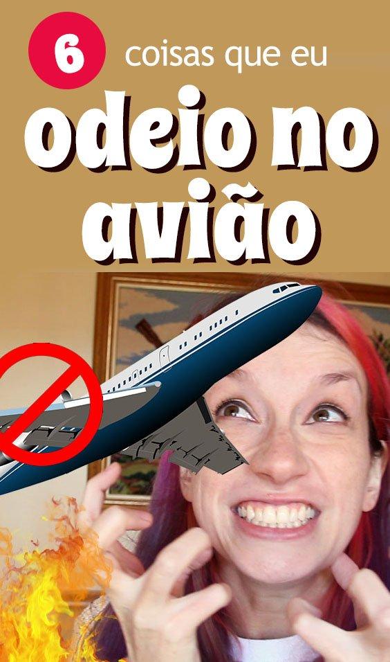 Coisas irritantes durante o voo, turbulencias, celular no avião
