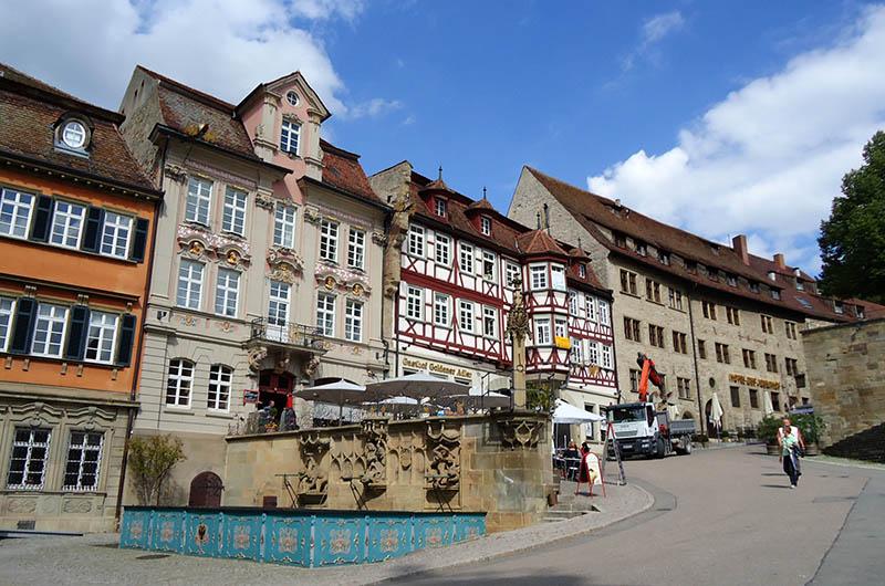Schwäbisch Hall marktplatz