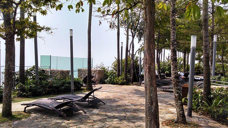 area piscina marina bay sands cingapura