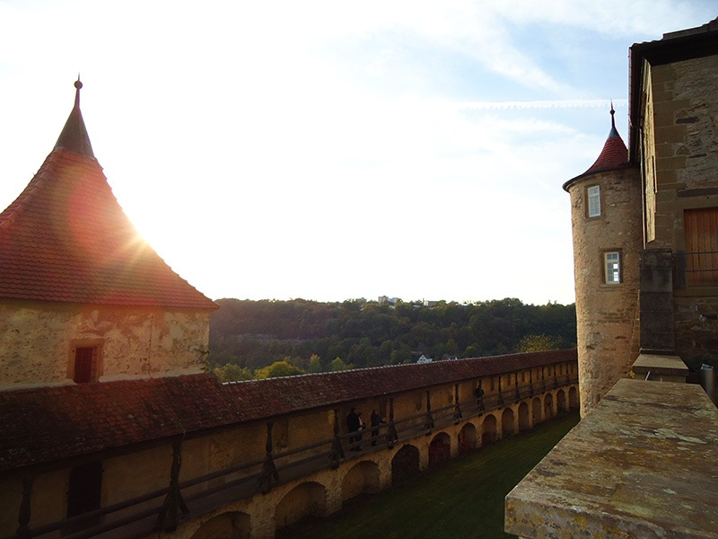 castelo sul da alemanha grosscomburg mosteiro