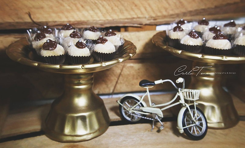 docinhos bicicleta casamento tematico