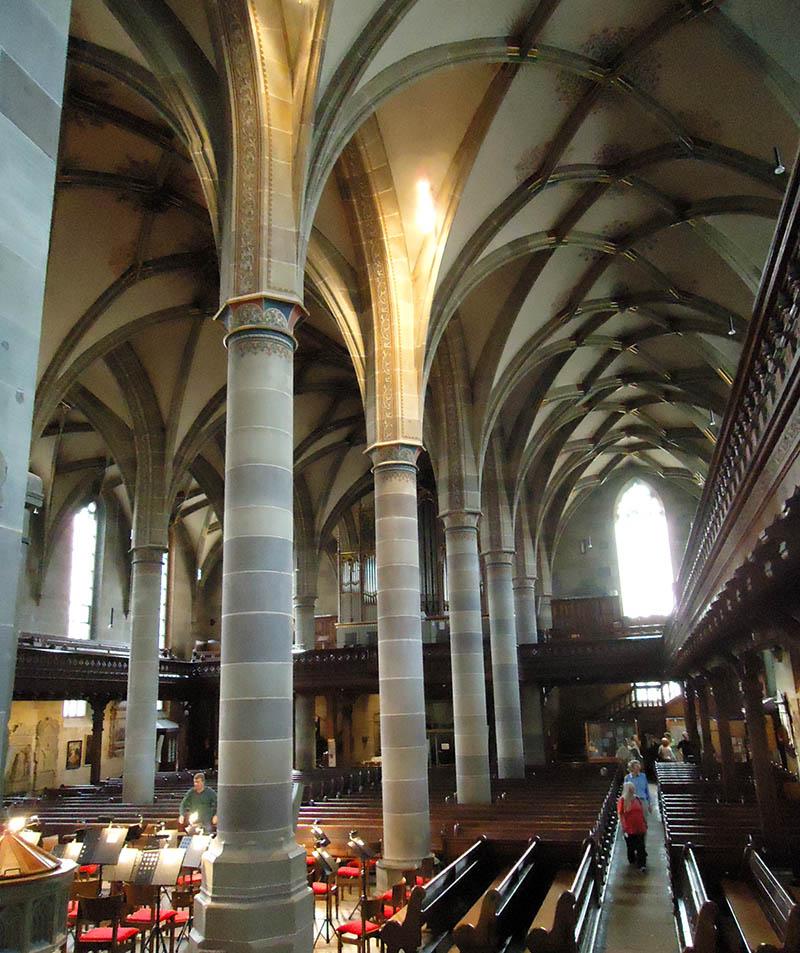 igreja de schwabisch hall interior