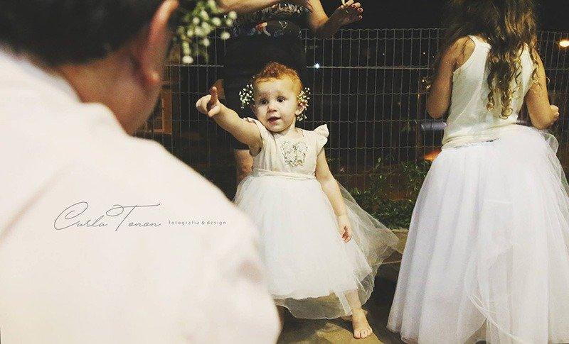laura faceira vestido branco